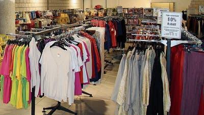 Im Säntispark hat ein Pop-up-Store eröffnet - Rabatte bis zu 90 Prozent
