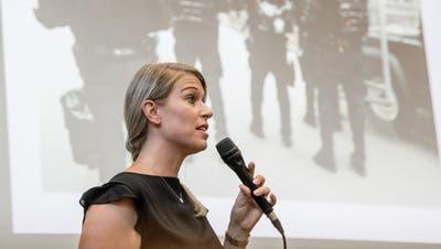 Noëlle Bürlimann, Dienstchefin bei der Luzerner Kriminalpolizei. (Bild: Nadia Schärli, Luzern, 26. August 2019)