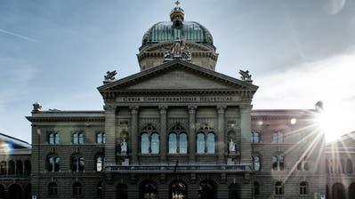Das Bundeshaus in Bern. (Archivbild: Roger Grütter)