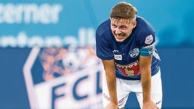Idriz Voca weiss, wie der FCL torgefährlicher wird. (Bild: Martin Meienberger/Freshfocus, Luzern, 8. August 2019)