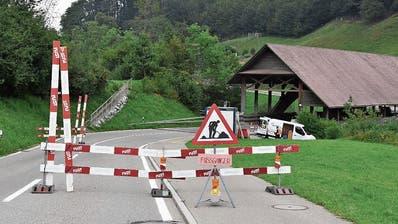 Sanierung der Lochermoosbrückezwischen Bütschwil und Ganterschwil verläuft gemäss Zeitplan