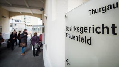 Das Bezirksgericht Frauenfeld befindet sich im Konsumhof in der Frauenfelder Vorstadt. (Bild: Reto Martin)