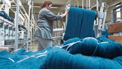 Die Auftragslage der Schweizer Textilindustrie hat sich weiter verschlechtert. (Bild: Keystone/Marcel Bieri)
