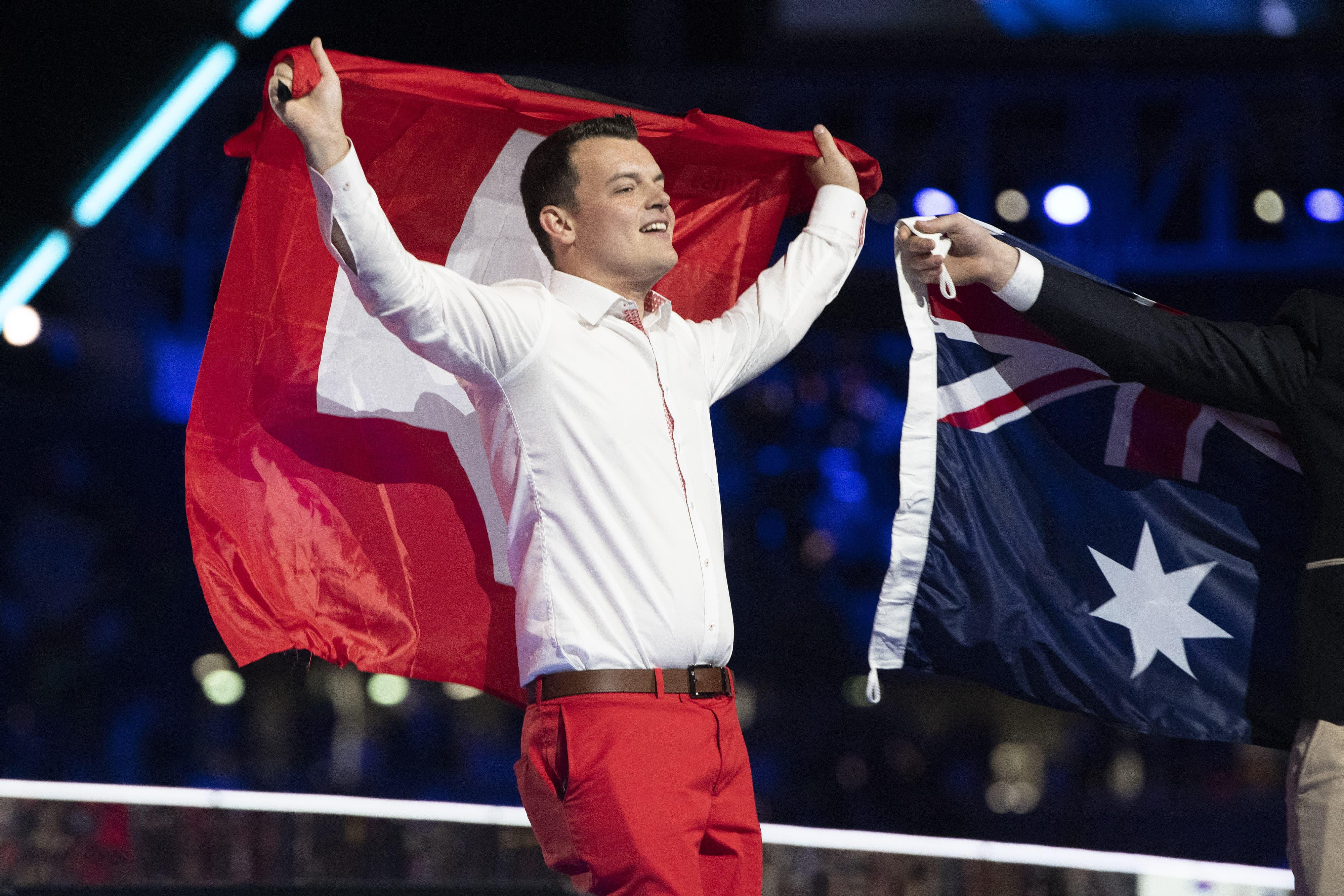 Patrick Grepper gewinnt für die Schweiz Bronze. (Bild: Swiss Skills)
