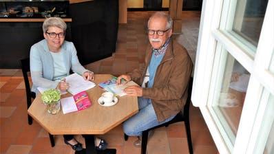 Murikultur-Geschäftsführerin Heidi Holdener und Präsident Robert Häfner. (Bild: Eddy Schambron)