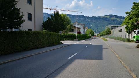 Die Kantonsstrasse in Oberdorf wird umgestaltet. (Bild: PD)
