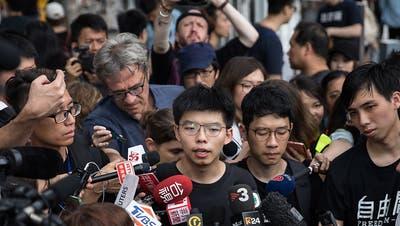 Aktivisten in Hongkong wieder frei - Proteste offiziell abgesagt