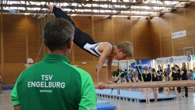 Die Kantonalmeisterschaften im Einzelgeräteturnen fanden 2018 bereits in Engelburg statt. (Bild: PD)