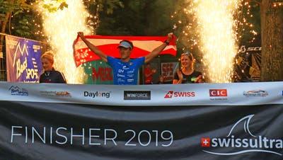 Neuer Weltrekord im 20fachen Ironman: Norbert Lüftenegger aus Österreich. (Bild: Robert Kucera)