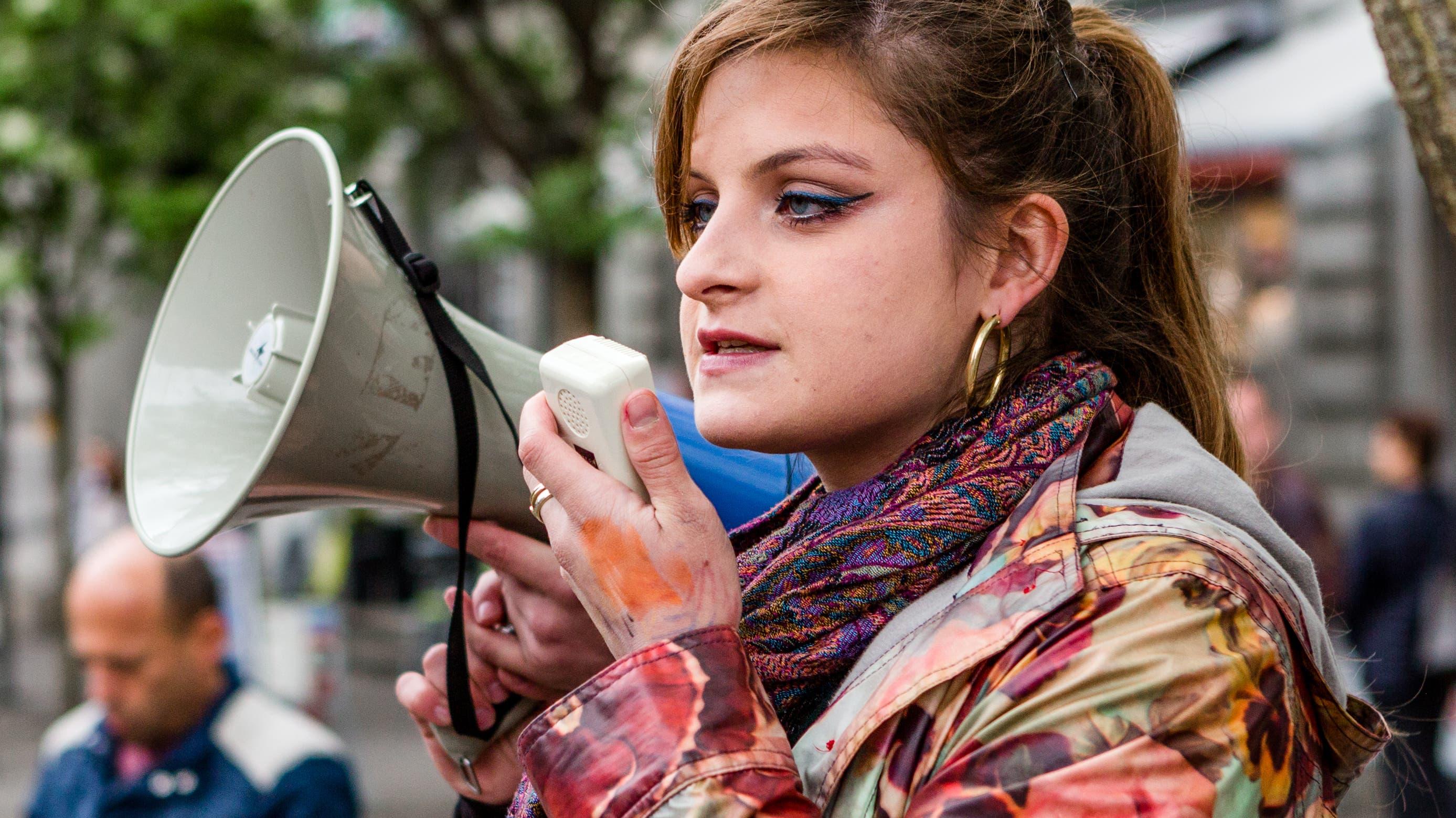 Mia Jenni (24) kommt aus Obersiggenthal AG. (Bild: Sandra Ardizzone)
