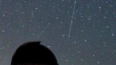 Flüchtige Schönheit: Meteor. (Bild: Keystone)