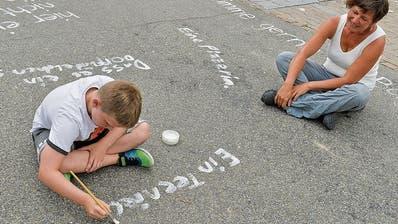 Eine Impression vom Stadtlabor, als es vor einem Monat beim Schulhaus Erzenholz Halt gemacht hat. (Bild: Donato Caspari)