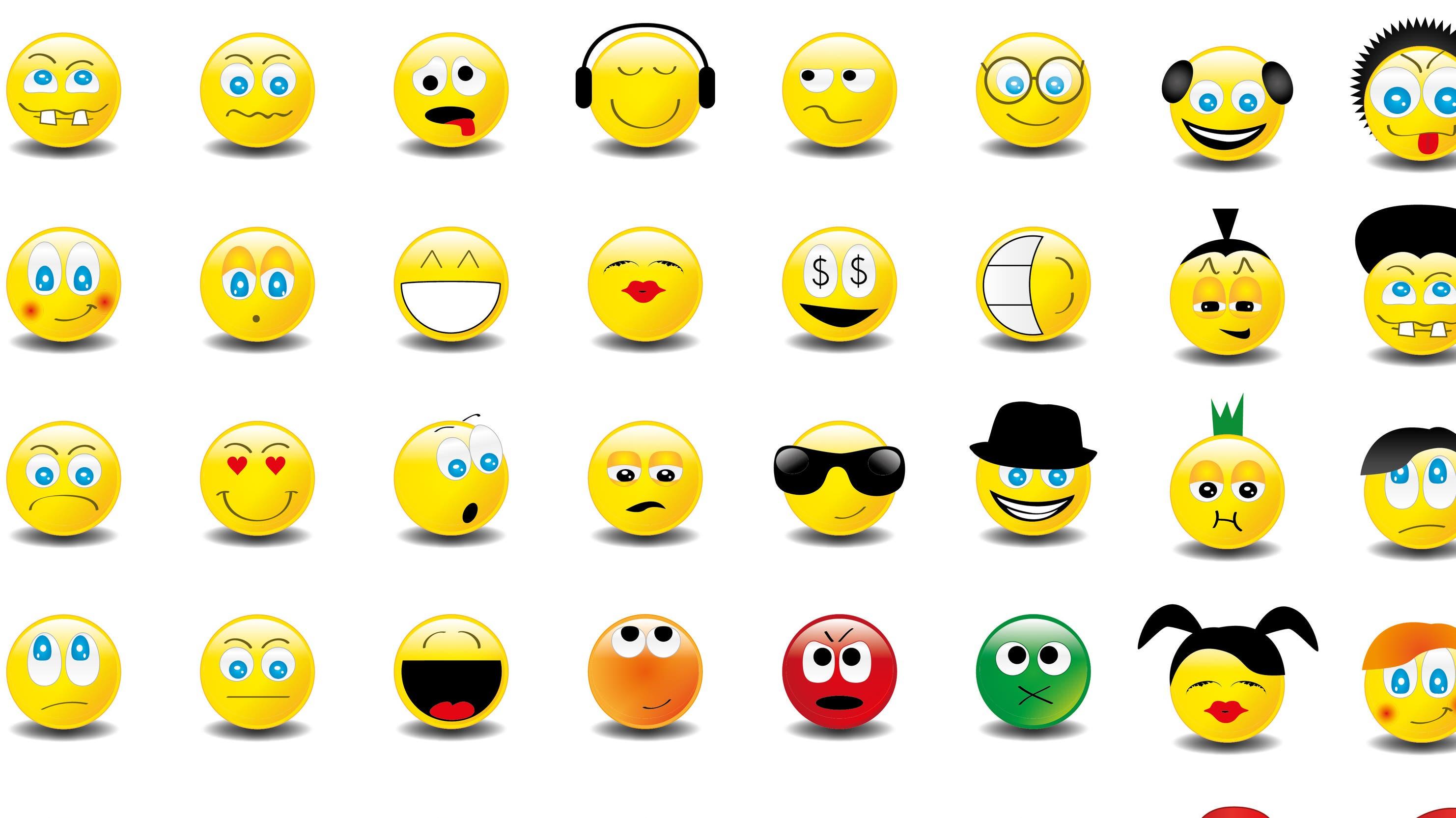 Whatsapp smiley zwinker 😊 Smileys