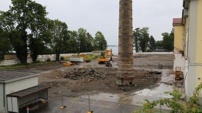 Auf dem Rorschacherberger Kopp-Areal sollen 34 Eigentumswohnungen entstehen. (Bild: Lisa Wickart)