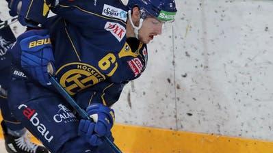 Der Stürmer und frühere Nationalspieler Fabrice Herzog wechselte im Sommer von den ZSC Lions zum HC Davos. (Bild: Mario Gaccioli, Kreuzlingen, 18. August 2019)