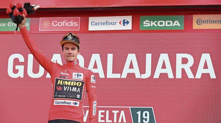 Radprofi Roglic vor dem Vuelta-Sieg