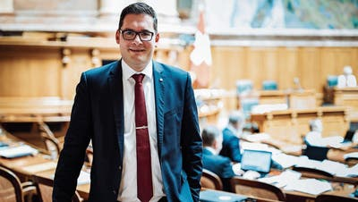 David Zuberbühler (SVP) setzte sich im Nationalrat für regionale Interessen wie den Zubringer Appenzellerland ein. (Bild: PD)