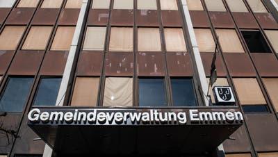 Die Gemeindeverwaltung von Emmen. (Boris Bürgisser, 27. Februar 2019)