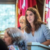 SP-Präsidentin Nina Schläfli scheiterte mit ihren Anträgen. (Bild: Andrea Stalder)