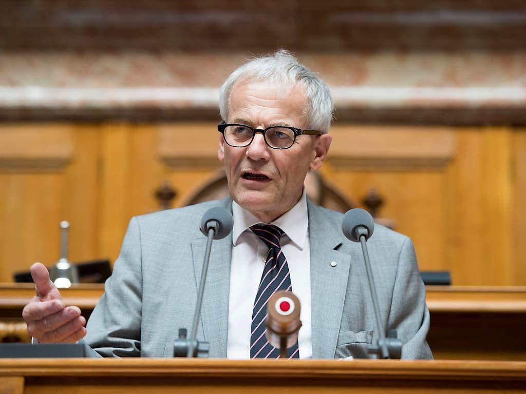 : Er ist ein Homo politicus, wie er im Buch steht: FDP-Nationalrat Kurt Fluri, Stadtpräsident von Solothurn, Präsident des Städteverbands und Stiftungspräsident Landschaftsschutz. (Bild: KEYSTONE/ANTHONY ANEX)