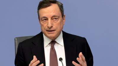 Mario Draghi ist Präsident der Europäischen Zentralbank. (Bild: Keystone)