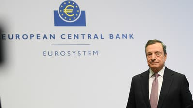 Hat sich erneut durchgesetzt: Mario Draghi, Präsident der Europäischen Zentralbank (Bild: Keystone)