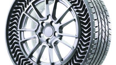Luftlose Reifen: Der Uptis von Michelin. (Bild: zvg)