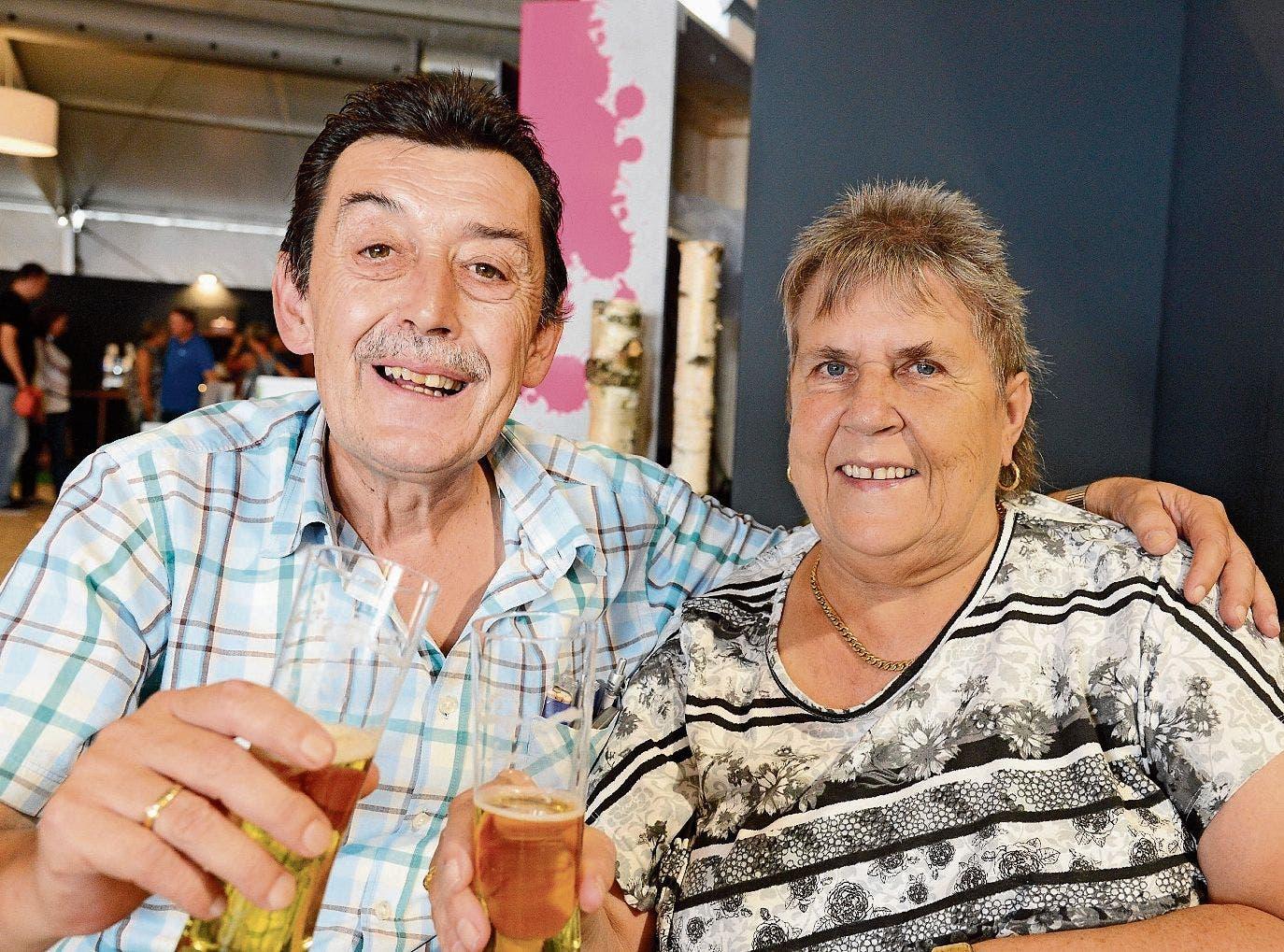 Berta und Nedo aus Buchs: «Wir geniessen ganz einfach die Wiga-Zeit.»