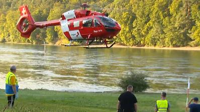 Drama auf dem Hochrhein: Gummiboot kollidiert mit Schifffahrtszeichen– Mann stirbt im Spital