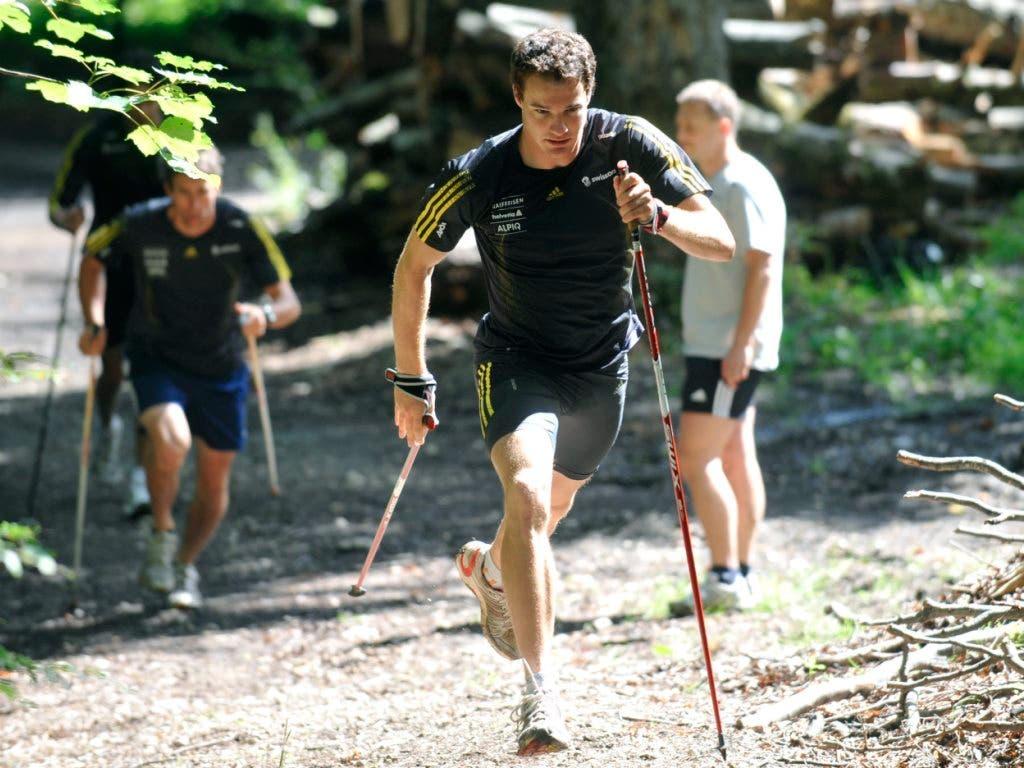 Langlauf-Olympiasieger Dario Cologna profitiert von der Spitzensport-RS. Mit diesem Angebot können Athletinnen und Athleten die Dienstpflicht optimal mit den Anforderungen und Bedürfnissen des Spitzensports verbinden. Bis 2033 werden die Plätze in der Spitzensport-RS verdoppelt. (Bild: KEYSTONE/LUKAS LEHMANN)