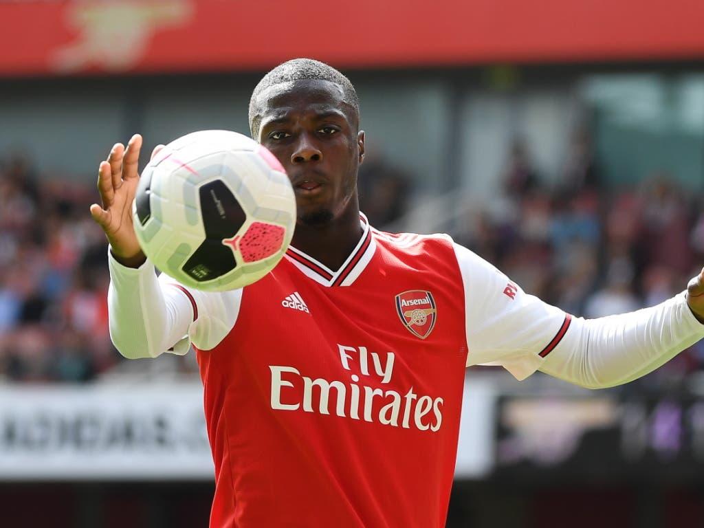 In Person von Nicolas Pépé verlor Lille seinen erfolgreichsten Offensivspieler an Arsenal (Bild: KEYSTONE/EPA/ANDY RAIN)