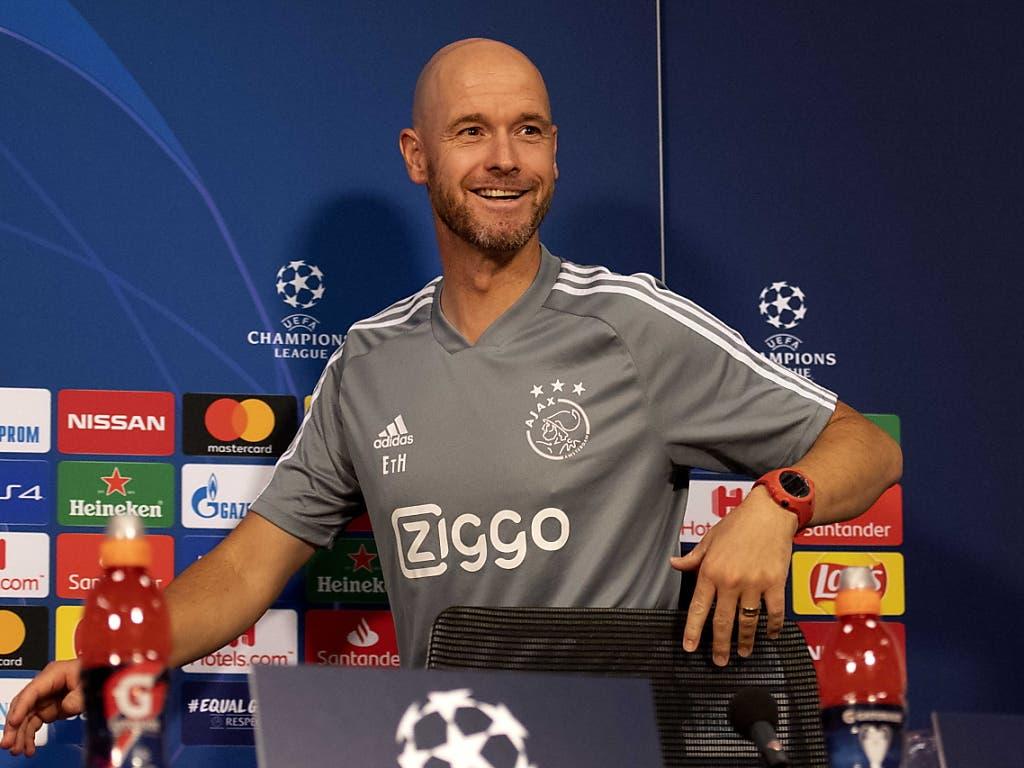 Gute Erinnerungen: Erik ten Hag mischte vergangene Saison mit Ajax die Champions League auf (Bild: KEYSTONE/EPA ANP/OLAF KRAAK)