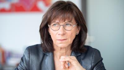 Chefin des St.Galler Gesundheitsdepartements ist Heidi Hanselmann. Die Ergebnisse des Berichts der KPMG liefen «der Positionierung ihres Departements diametral entgegen», glauben FDP und SVP zu wissen.(Bild: Urs Bucher)