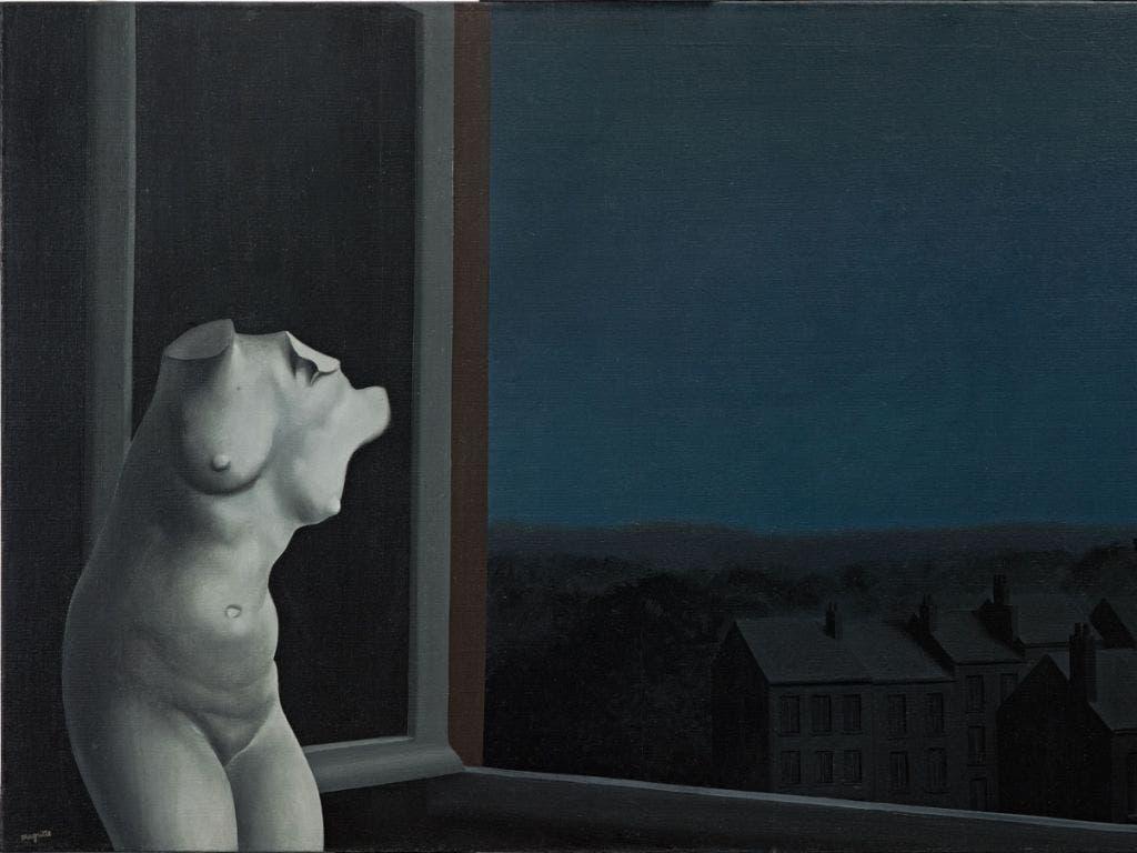 «La belle de nuit» von René Magritte. (Bild: Privatbesitz, © 2019, ProLitteris, Zürich, Foto: Bildpunkt, Ro)