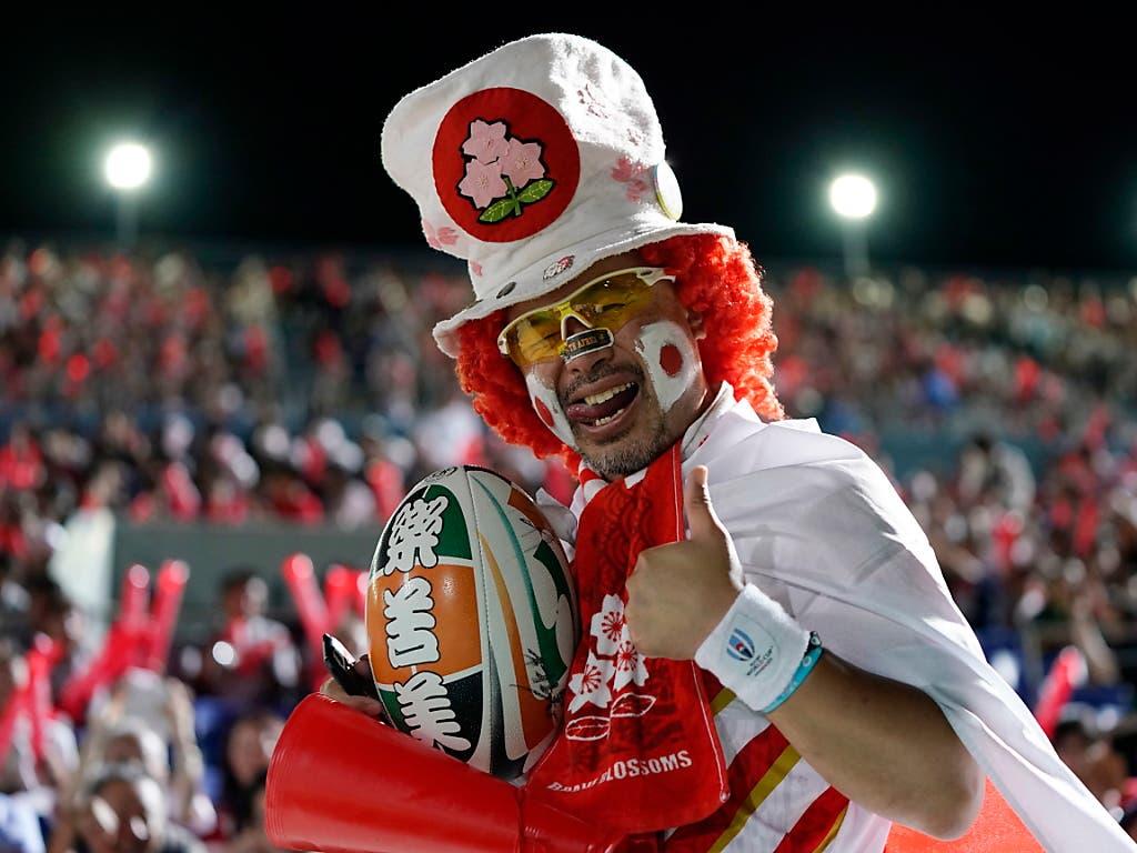 Der Sieg gegen Südafrika und die bevorstehende Heim-WM - die erste in Asien überhaupt - sorgte in Japan für einen regelrechten Rugby-Boom (Bild: KEYSTONE/EPA/FRANCK ROBICHON)