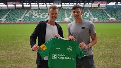 Der FC St.Gallen verpflichtet den Stürmer André Ribeiro vom SC Braga