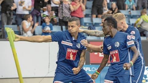 FCL-Torschütze Lucas Alves: «Gegen YB sind wir immer parat»