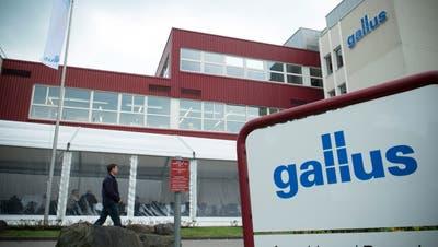Die Montage der Etikettendruck-Maschinen soll ins deutsche Langgöns verlagert werden. (Bild: Ralph Ribi)