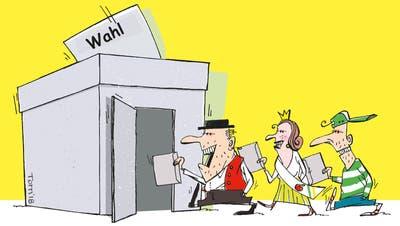 Die grosse Wahlumfrage: Welche Ostschweizer sollen uns in Bern vertreten?
