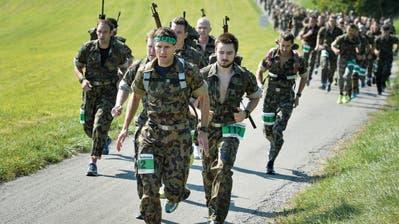 Waffenläufer sind beim Herdermer Lauf am längsten unterwegs
