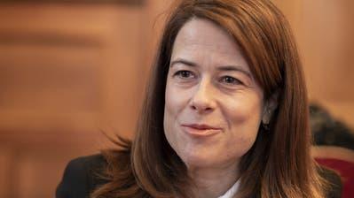 «Wir wollen endlich eine Vorwärtsstrategie»: FDP-Präsidentin Petra Gössi. (Bild: Severin Bigler)