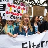 Klimademo in der Stadt Luzern am 6. April 2019 (Bild: Dominik Wunderli)