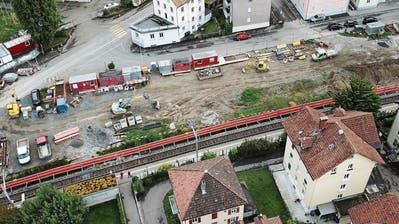 Die Velounterführung verbindet ab dem Jahr 2022 den Sonnenweg mit der parallel zum Gleis laufenden Dufourstrasse.(Bild: Hardy Buob)