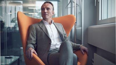 Mads Larsen, Der Schweiz-Chef von British American Tobacco, in seinem Lausanner Büro. (Bild: Beat Schmid, 23. Mai 2019)