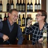 Peter Krummenacher aus Kägiswil und Conny Sticher aus Ebikon freuen sich über ihre Auszeichnungen. (Bild: Jakob Ineichen, Luzern, 25.September 2019)