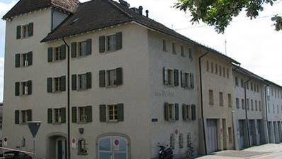 Hier soll das neue Kultur- und Musikschulzentrum entstehen: Die Liegenschaft «Zum Turm».