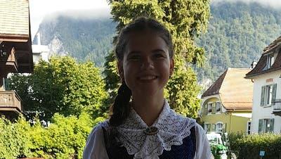 Die Neuwilerin Nadin Bösch wird am Sonntag die Ehrengäste im Bäärenmos begleiten. (Bild: PD)
