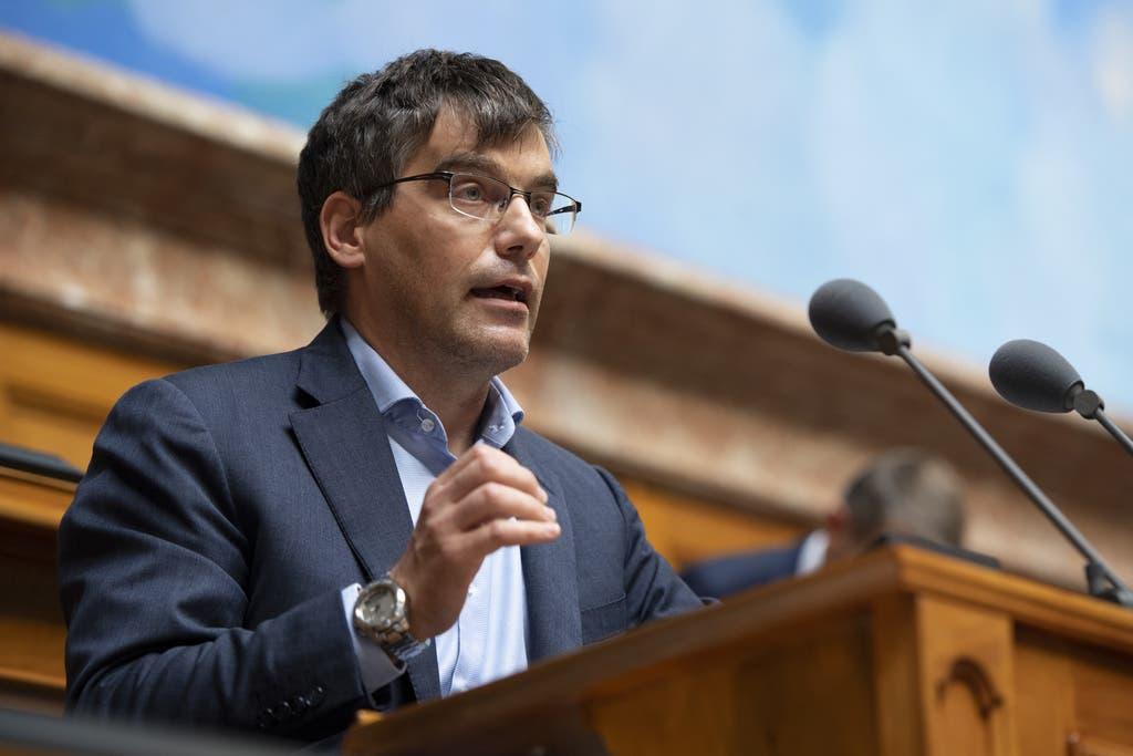 Roger Nordmann, Fraktionschef der SP. Nordmann ist Chef der 54-Köpfigen Sozialdemokratischen Fraktion. (Bild: Keystone)