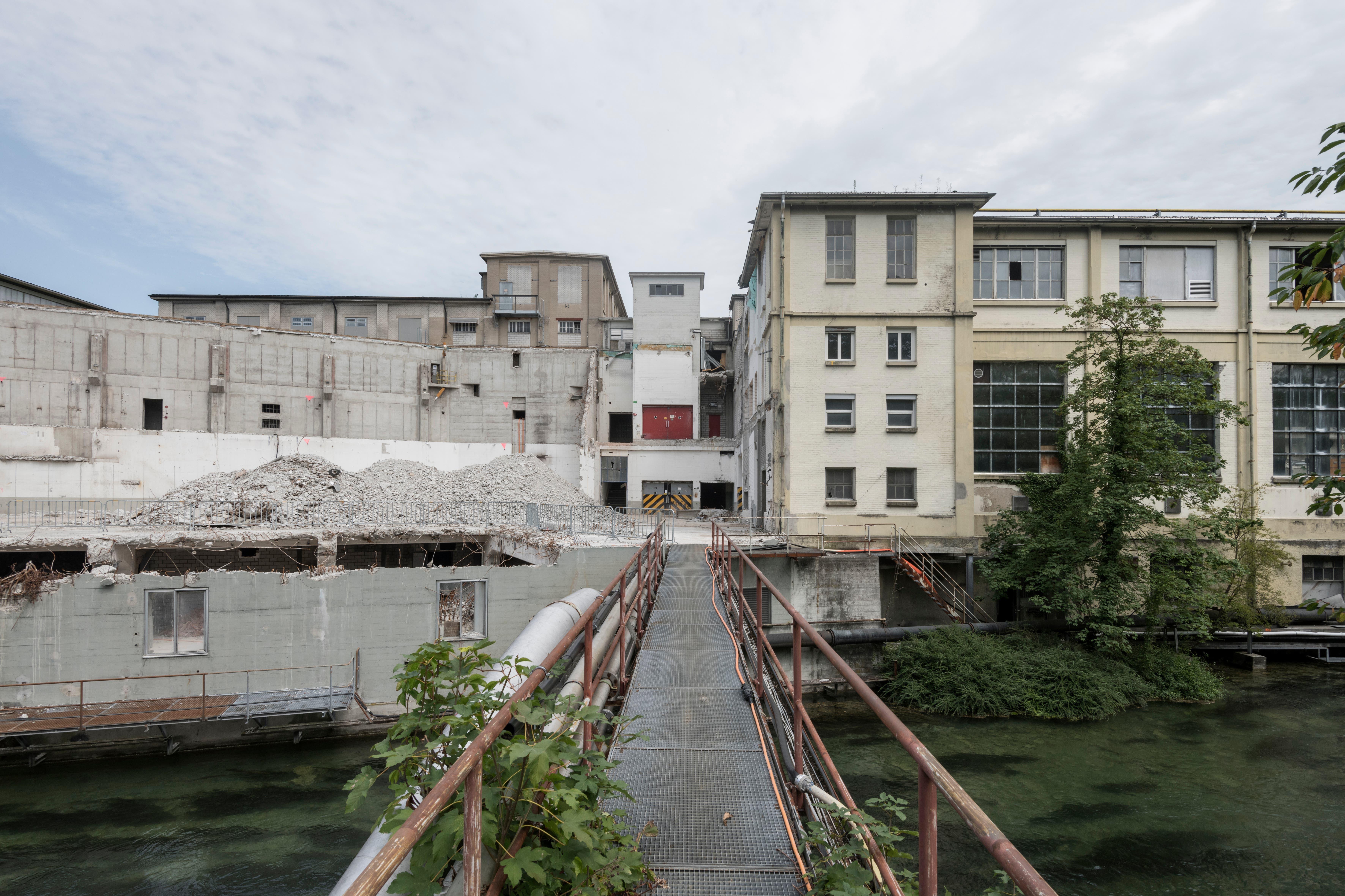 Aktuell sind noch keine Neubauten im Gang, da der Rückbau zuerst abgeschlossen werden soll. (Bild: PD/Beat Bühler, Zürich)