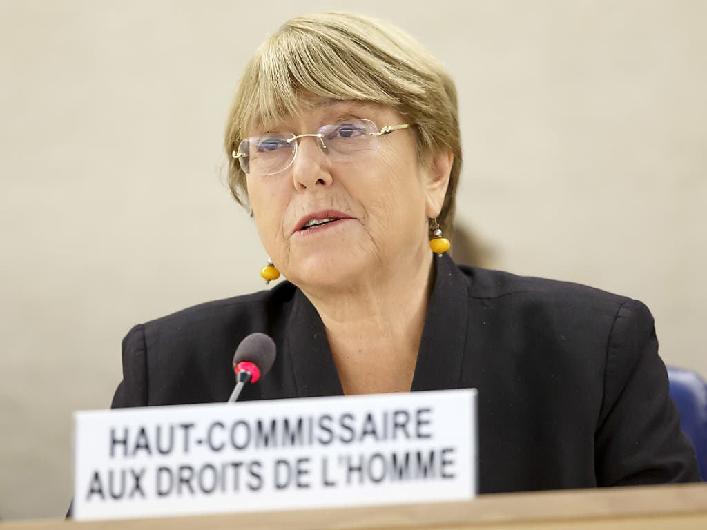 Besorgt über die Massenfestnahmen in Ägypten: Die Uno- Menschenrechtskommissarin Michelle Bachelet. (Bild: KEYSTONE/SALVATORE DI NOLFI)